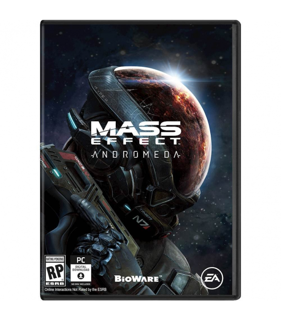 اکانت Mass Effect: Andromeda
