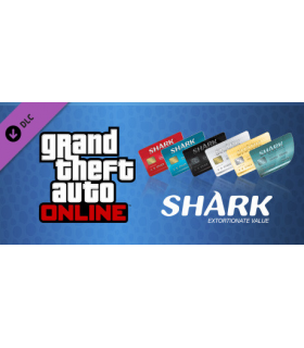GTA Online Shark Cash Card 500.000.000 + افزایش LVL دلخواه