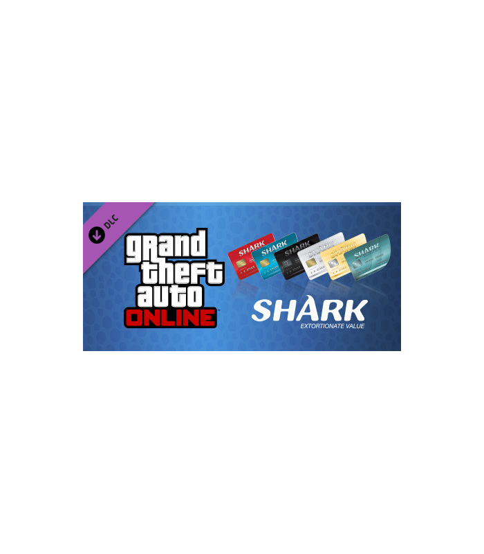 GTA Online Tiger Shark Cash Card - $200,000