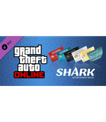 GTA Online Shark Cash Card 500.000.000 + افزایش LVL دلخواه
