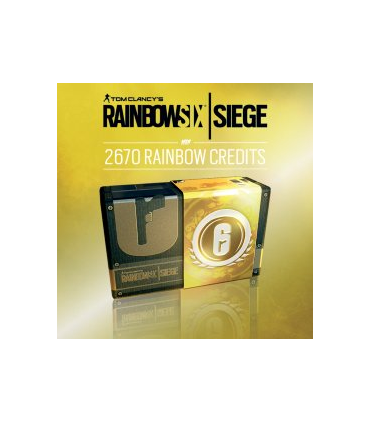 Rainbow Six Siege: 2670 Credits