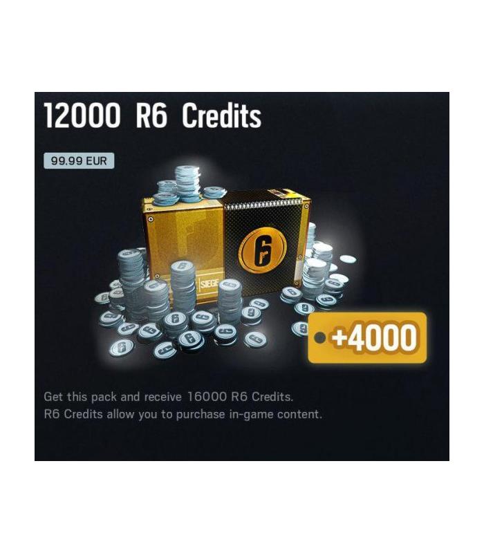 Rainbow Six Siege: 16000  Credits