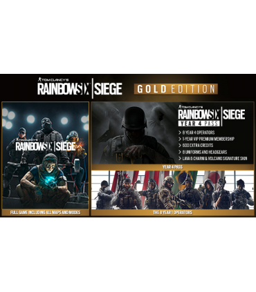 Tom Clancy's Rainbow Six Siege - Gold Edition
