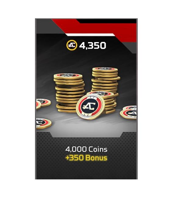 APEX : LEGENDS 4350 COINS