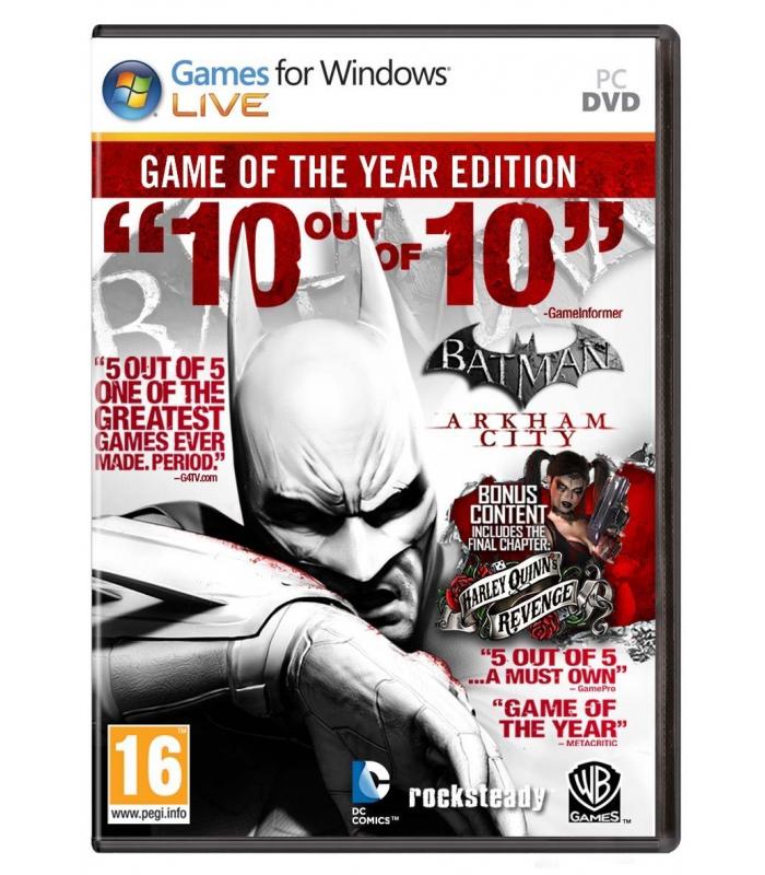 Batman: Arkham City GOTY Edition STEAM CD-KEY GLOBAL - 1