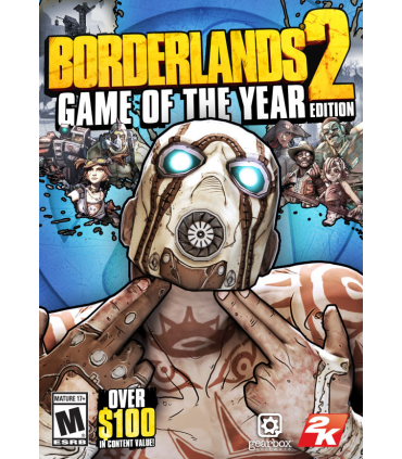 BORDERLANDS 2 :GOTY EDITION